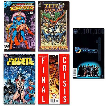 Ímãs Decorativos Capas de Quadrinhos - Sagas DC - Pack 10 unid
