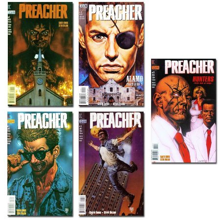 Ímãs Decorativos Capas de Quadrinhos - Preacher- Pack 10 unid