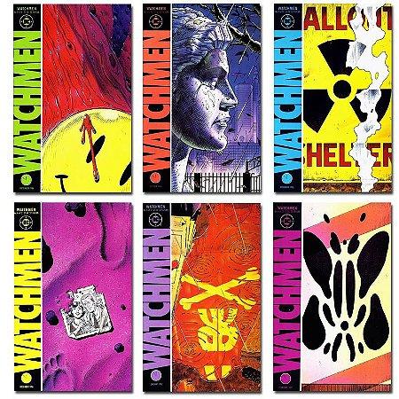 Ímãs Decorativos Capas de Quadrinhos - Watchmen - Pack 12 unid
