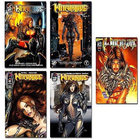 Ímãs Decorativos Capas de Quadrinhos - Witchblade - Pack 10 unid