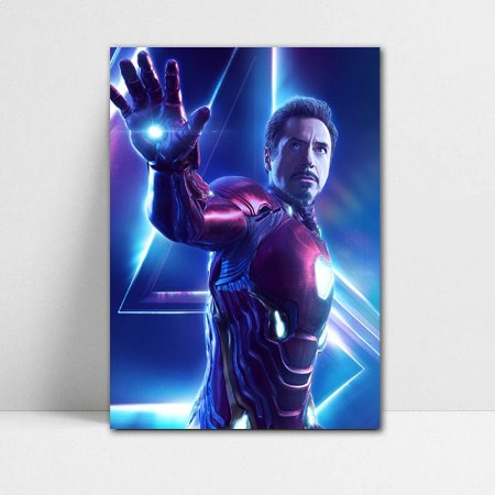 Poster A4 Avengers Infinity War - Iron Man