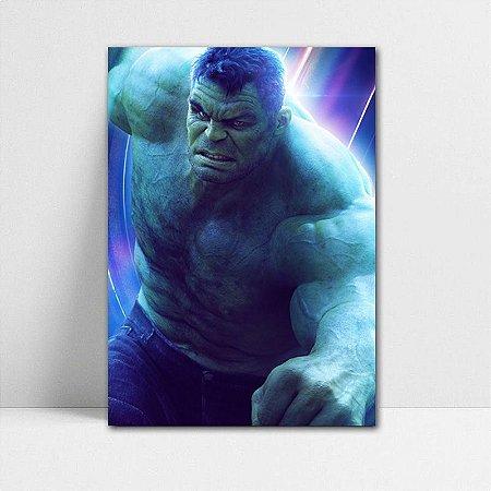 Poster A4 Avengers Infinity War - Hulk