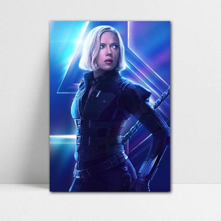 Poster A4 Avengers Infinity War - Black Widow