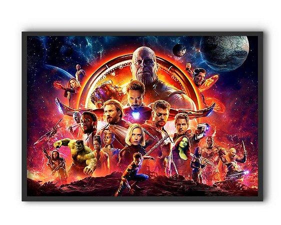 Poster A4 Avengers Infinity War - PAVI14