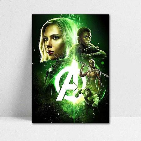 Poster A4 Avengers Infinity War - PAVI21