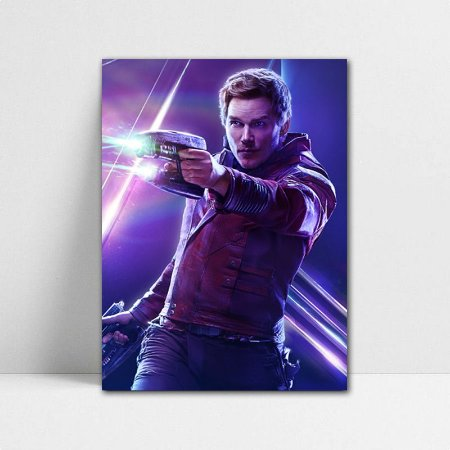 Poster A4 Avengers Infinity War - Star-Lord