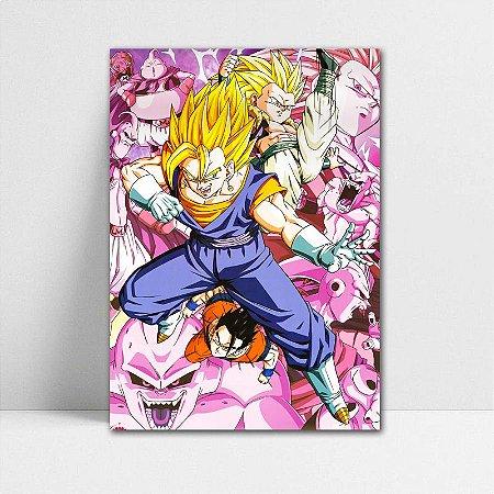 Poster A4 Dragon Ball Z - Vegetto e Gotenks