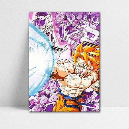 Poster A4 Dragon Ball Z - Goku SSJ Born
