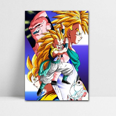 Poster A4 Dragon Ball Z - Gotenks Super Saiyajin 3