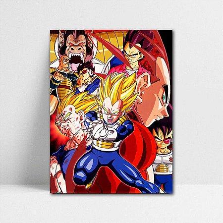 Poster A4 Dragon Ball Z - Vegeta Super Saiyan