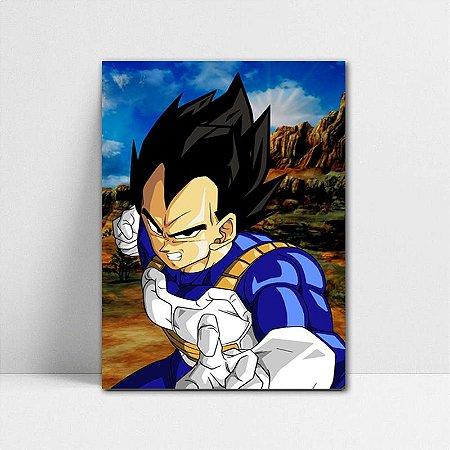 Poster A4 Dragon Ball Z - Prince Vegeta