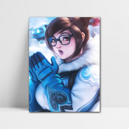 Poster A4 Overwatch - Mei Ling Zhou