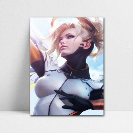 Poster A4 Overwatch - Mercy