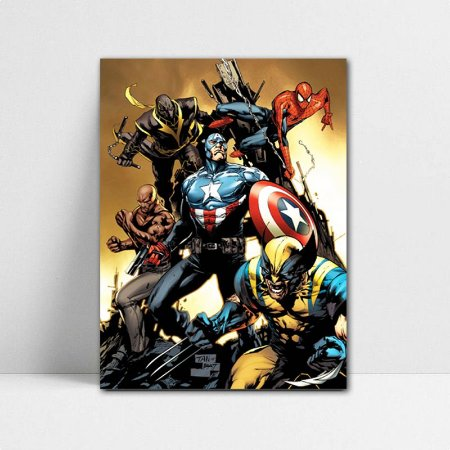 Poster A4 Marvel - The New Avengers