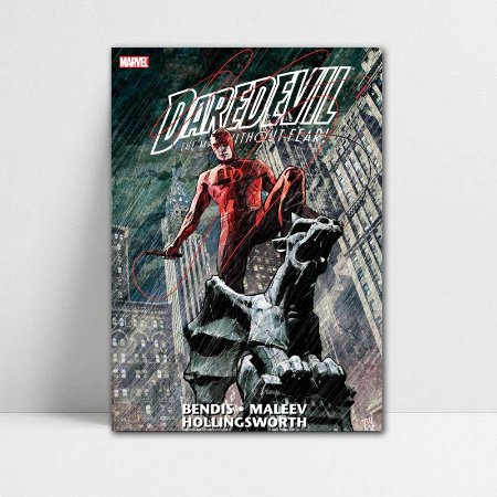 Poster A4 Marvel - Daredevil The Man Without Fear