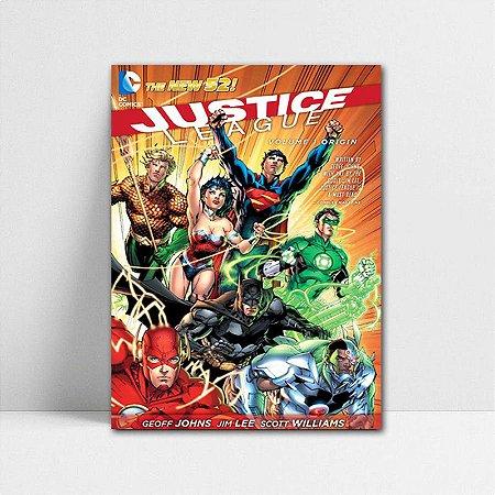 Poster A4 DC - Comics Justice League New 52