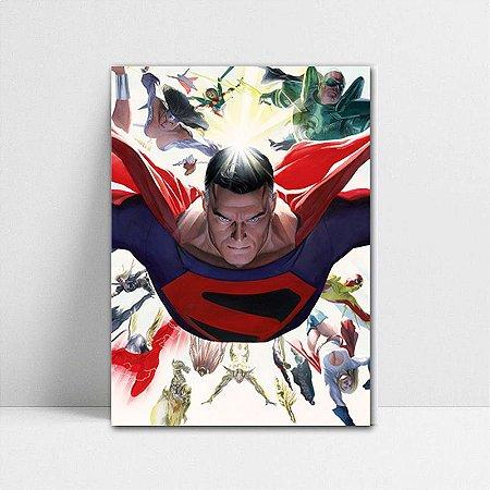 Poster A4 DC - Kingdom Come