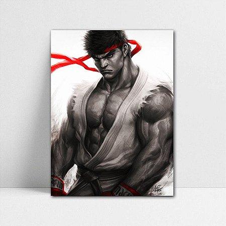 Poster A4 Street Fighter - Ryu Keikogi