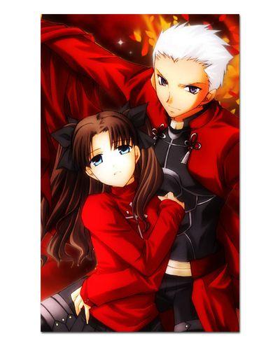 Ímã Decorativo Rin Tosaka e Archer Fate/Stay Night - IFS10