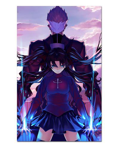 Ímã Decorativo Rin Tosaka e Archer Fate/Stay Night - IFS18
