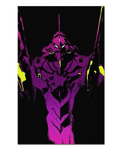 Ímã Decorativo EVA 01 - Neon Genesis Evangelion - IEVA12