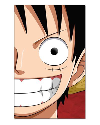 Ímã Decorativo Monkey D. Luffy - One Piece - IOP01