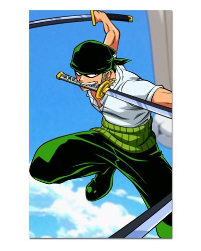Ímã Decorativo Roronoa Zoro - One Piece - IOP29