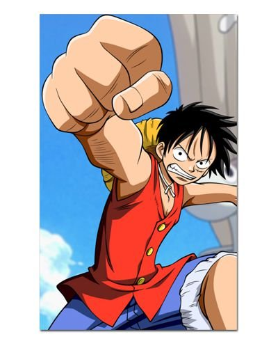 Ímã Decorativo Monkey D. Luffy - One Piece - IOP31