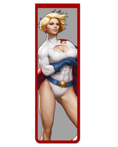 Marcador De Página Magnético Power Girl - MDC10