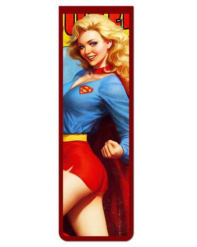 Marcador De Página Magnético Supergirl - MDC17