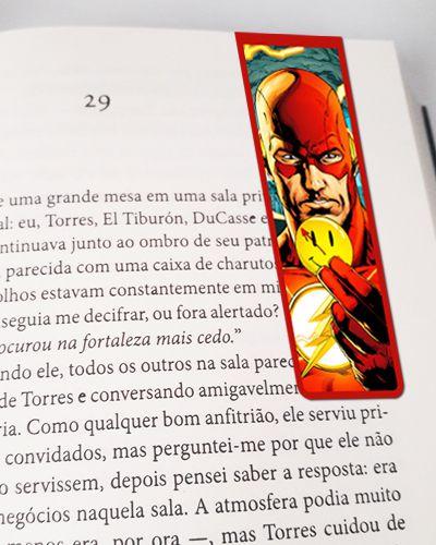 Marcador De Página Magnético The Flash Rebirth - MDC74