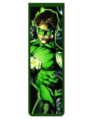 Marcador De Página Magnético Lanterna Verde - MDC94