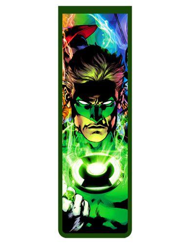 Marcador De Página Magnético Lanterna Verde - MDC95