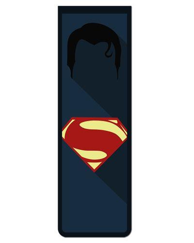 Marcador De Página Magnético Superman - MDC97