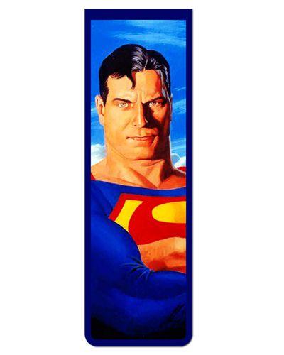 Marcador De Página Magnético Superman - MDC102