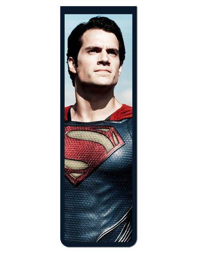 Marcador De Página Magnético Superman - MDC107