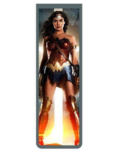 Marcador De Página Magnético JL Wonder Woman - MDC113
