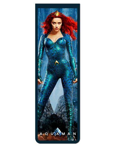 Marcador De Página Magnético Aquaman - Mera - MDC134