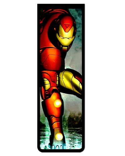 Marcador De Página Magnético Iron Man - MMA28