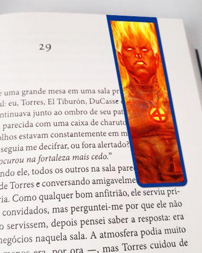 Marcador De Página Magnético Tocha Humana - MMA55
