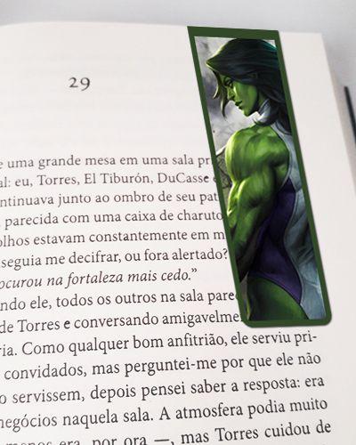 Marcador De Página Magnético She-Hulk - MMA57