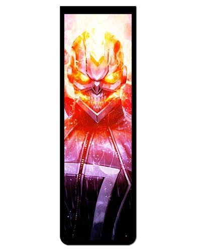 Marcador De Página Magnético Ghost Rider - MMA63