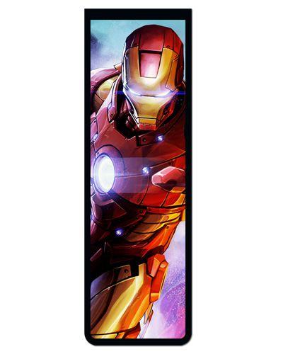 Marcador De Página Magnético Iron Man - MMA65