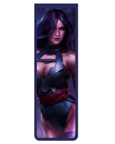 Marcador De Página Magnético Psylocke - X-Men - MMA68