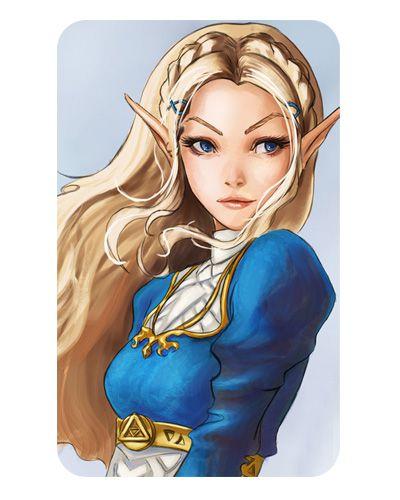 Ímã Decorativo Princesa Zelda - The Legend of Zelda - IZE07