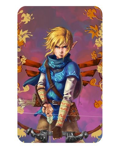 Ímã Decorativo Link - The Legend of Zelda - IZE19