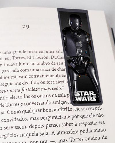 Marcador De Página Magnético K-2SO - Star Wars - MFI43