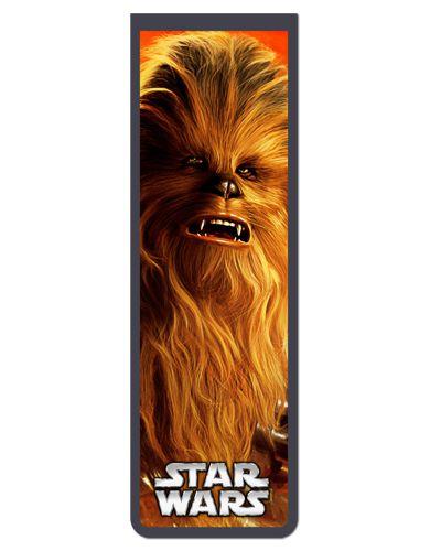 Marcador De Página Magnético Chewbacca - Star Wars - MFI55
