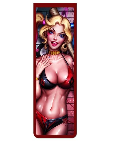 Marcador De Página Magnético Harley Quinn - MDC63