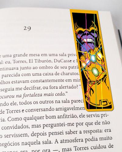 Marcador De Página Magnético Thanos - MMA96